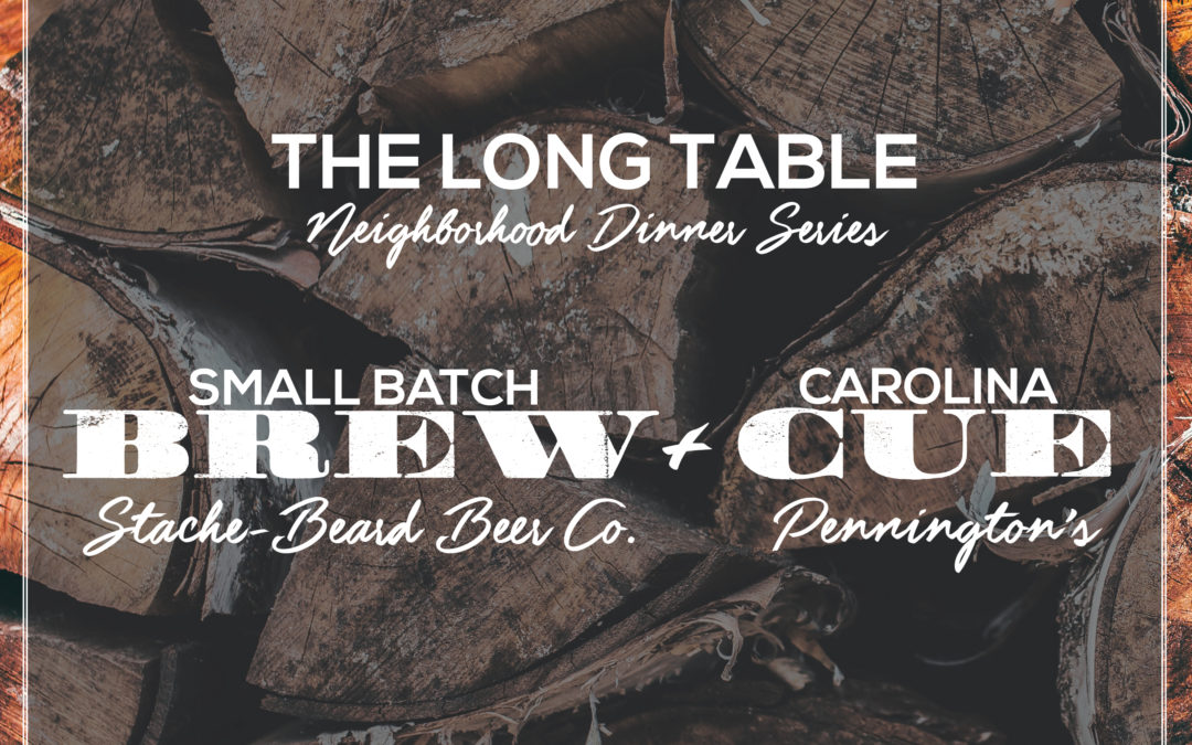 The Long Table Dinner series || October Brew & Cue